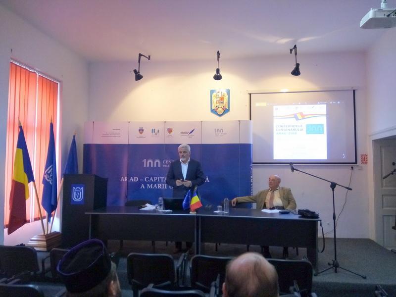 Directorul Arhivelor Naționale ale României a conferențiat la Arad
