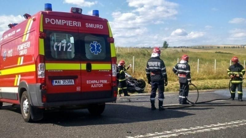 Accident rutier, provocat de neatenția unui tânăr șofer