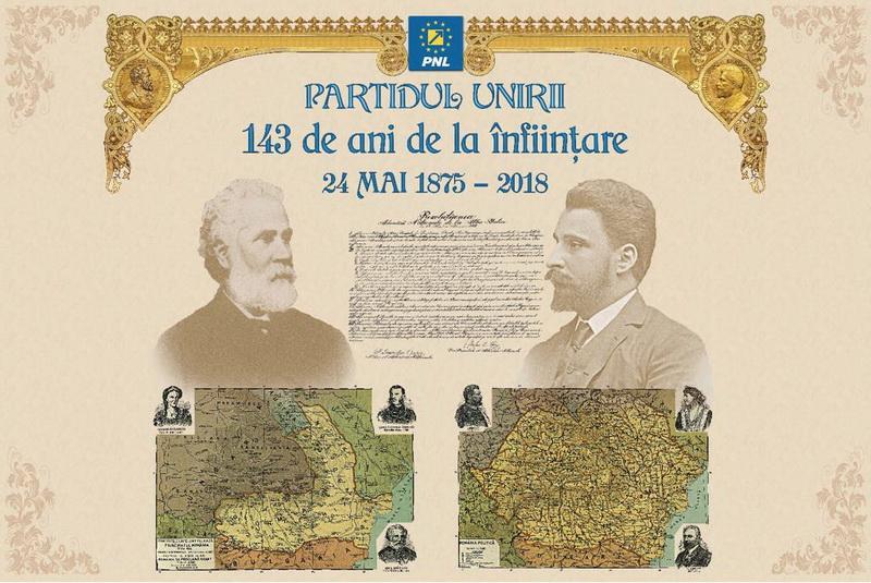 Partidul Național Liberal, partidul Unirii care a făcut România Mare și modernă!