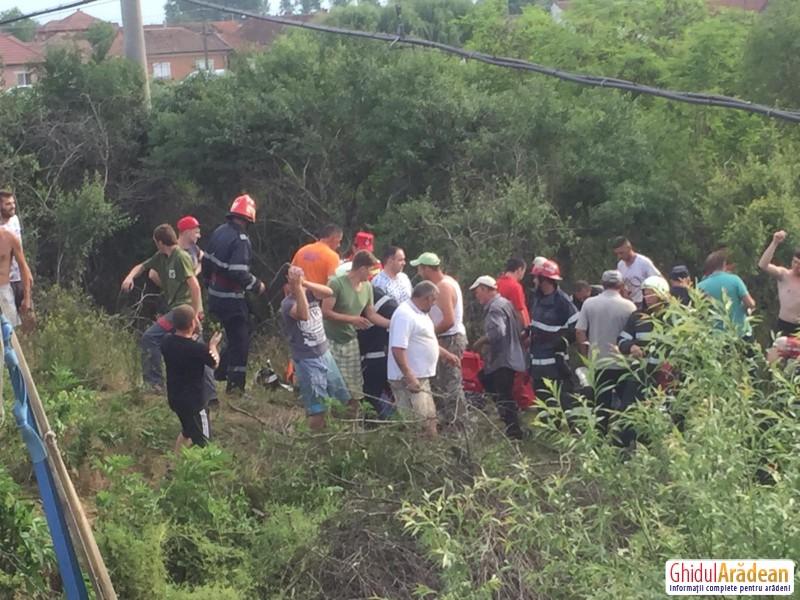 Accident MORTAL pe podul de la Seleuș