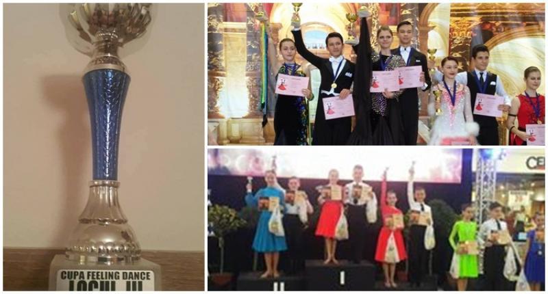 Școala de Dans Royal Steps a dominat ringul de dans la CUPA FEELING DANCE de la Oradea