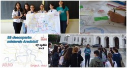 """Să descoperim misterele Aradului – un proiect al Şcolii Gimnaziale """"Regina Maria"""""""