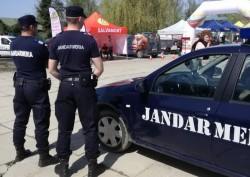 Jandarmii arădeni vor asigura ordinea şi siguranţa la Festivalul Berii din parcul Eminescu