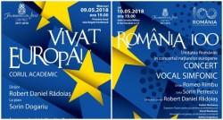 Vivat Europa! cu Filarmonica din Arad -  concertul coral dedicat Zilei Europei cu Filarmonica din Arad