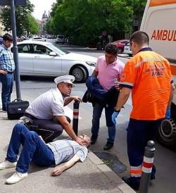 Viața unui arădean a fost salvată din nou de agenții de la Poliția Locală