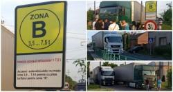 Firma de transport de pe strada Dunării din Gai promite să-şi mute garajul până în luna septembrie