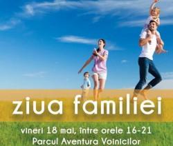 Ziua Familiei - un eveniment pentru copii, părinţi şi bunici, în Parcul Aventura Voinicilor