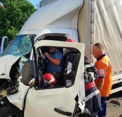Un alt accident de circulație a avut loc în această dimineața, în centrul orașului Lipova