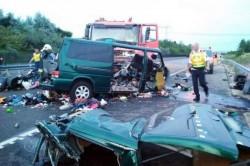 Nouă români au murit într-un groaznic accident rutier, în apropiere de Budapesta