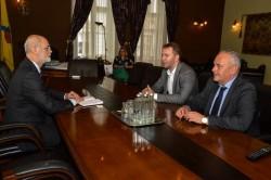 Viceprimarul Levente Bognar l-a primit pe Ambasadorul Ucrainei la București