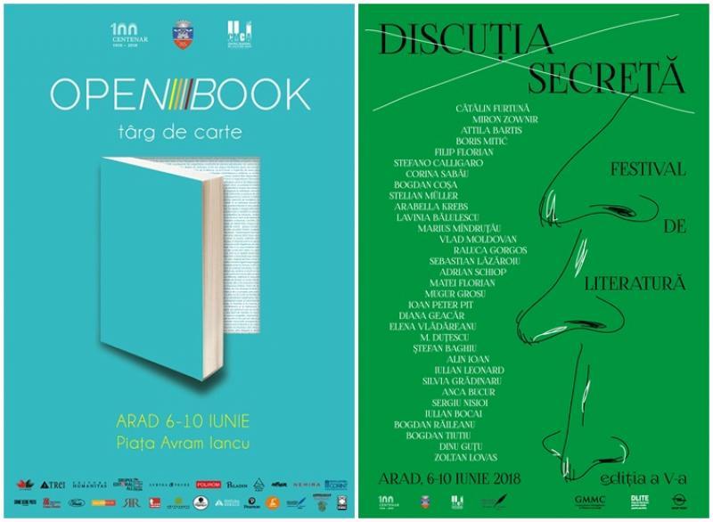 Festivalul internațional de literatură Discuția secretă ediția a V-a, Arad 6-10 iunie 2018
