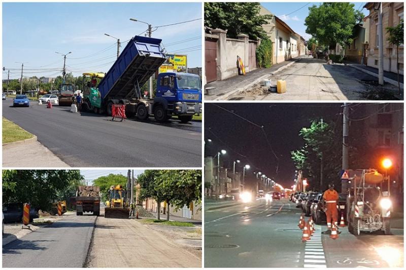 Atenţie şoferi! Vezi pe ce străzi se lucrează în Arad!