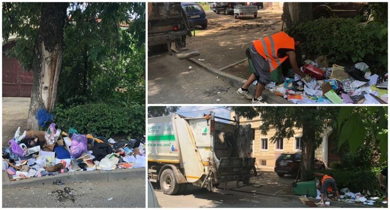 Doi arădeni sanţionaţi de Poliţia Locală pentru gunoi abandonat pe domeniul public