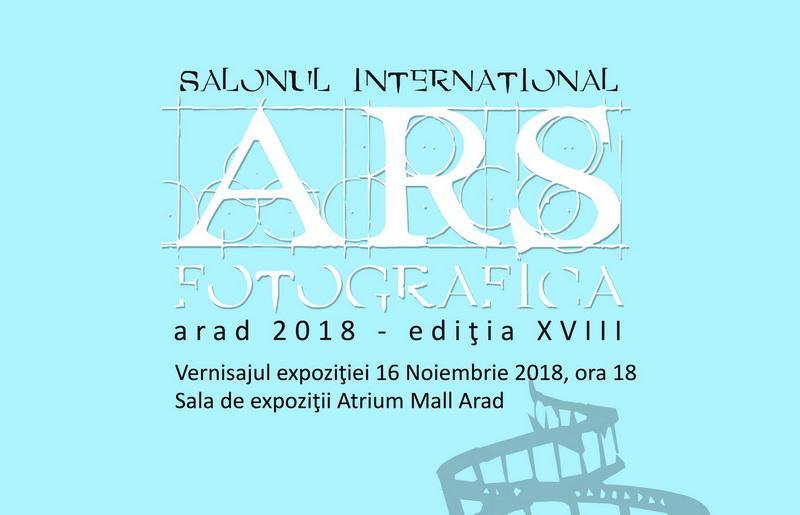Salonul Internațional Ars Fotografica Arad – 2018, Ediția a XVIII-a