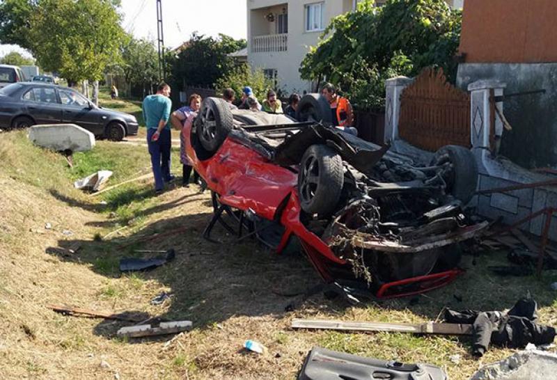 Miercuri dimineața a avut loc un grav accident rutier. Printre răniți se afla și o femeie gravidă
