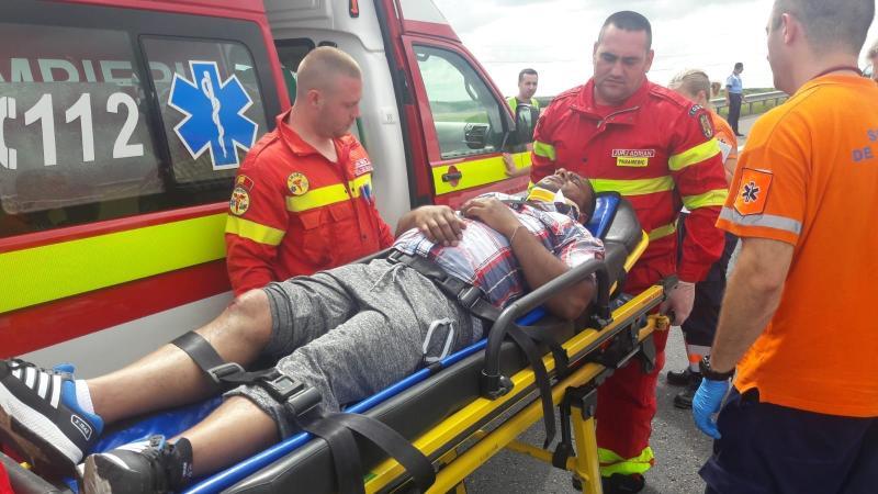 Șapte persoane au fost implicate într-un accident rutier care a avut loc pe A1 între Arad și Timișoara