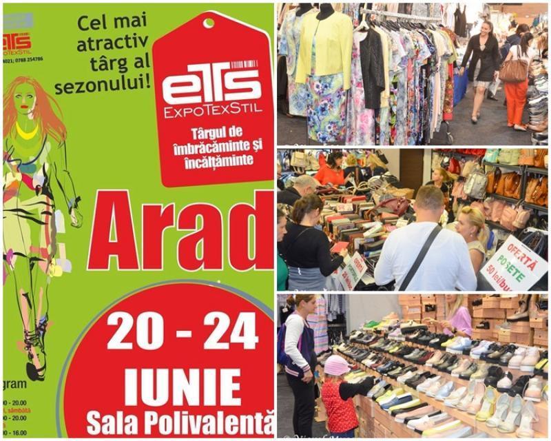 Târgul Expo TexStil a venit la Arad cu oferte de sezon