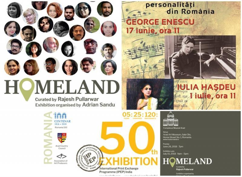 Evenimentele culturale la Complexul Muzeal Arad, organizate la sfârşitul acestei săptămâni, dedicate Centenarului României (1918-2018)