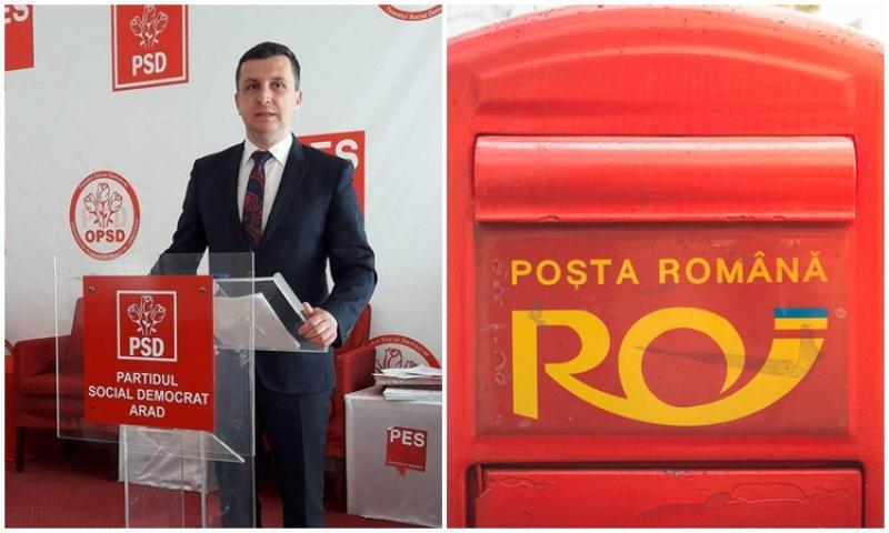 Bine e în PSD.... De la mătură la Director General Adjunct! Încă un post gras pentru Beniamim Vărcuş - Director General Adjunct la Poşta Română
