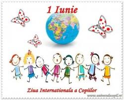 1 IUNIE Ziua Copilului ! La mulți ani tuturor copiilor !