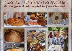 Circuitul Gastronomic continuă şi în iunie, cu destinaţii-surpriză: Dorobanţi, Lipova, Căsoaia, Petriş!