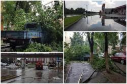 Cartierul Micălaca cel mai afectat după o furtună de doar 20 de minute