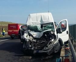 Grav accident de circulație, pe A1 produs de un tânăr șofer