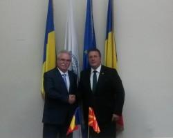 Consulul onorific al R. Macedonia, în vizită la CCIA Arad