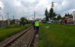 Bărbat lovit de trenul care circula pe ruta Arad-Nădlac