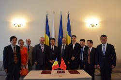 Preşedintele CCIA Arad a primit vizita unei delegaţii chineze, din regiunea Suzhou