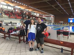 Alexia Bascărău, singura înotatoare cu medalie europeană a înotului arădean