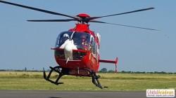 Grav accident rutier la intrarea în Ineu. Intervine elicopterul SMURD