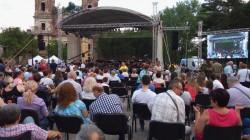 Concert rock-simfonic în Cetatea Aradului