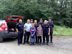 Cei doi minori de 10, respectiv 12 ani rătăciți în pădure au fost găsiți !