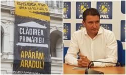 """Viceprimarul Aradului, Călin Bibarț : """"Prefectura joacă nesincer! Există posibilitatea ca pe viitor să încerce, din nou, să fure clădirea Primăriei!"""""""