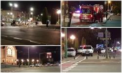 Alarmă de grad ZERO la Catedrala din Arad! Mascaţi, Pompieri, Genişti, şi 8 echipaje de Poliţie!