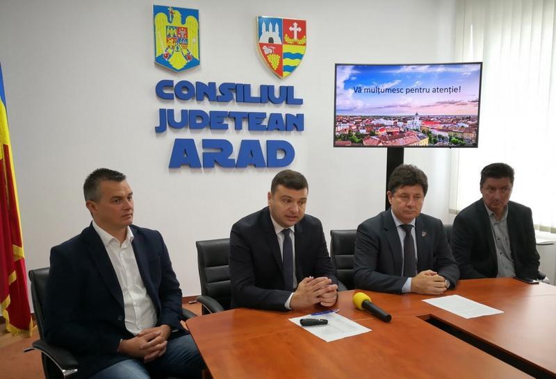 Finanţare de 14,5 milioane de euro pentru judeţul Arad