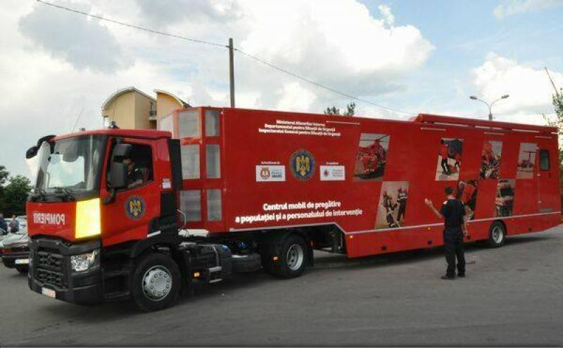 Caravana SMURD vine la Arad, pe data de 7 și 8 iulie