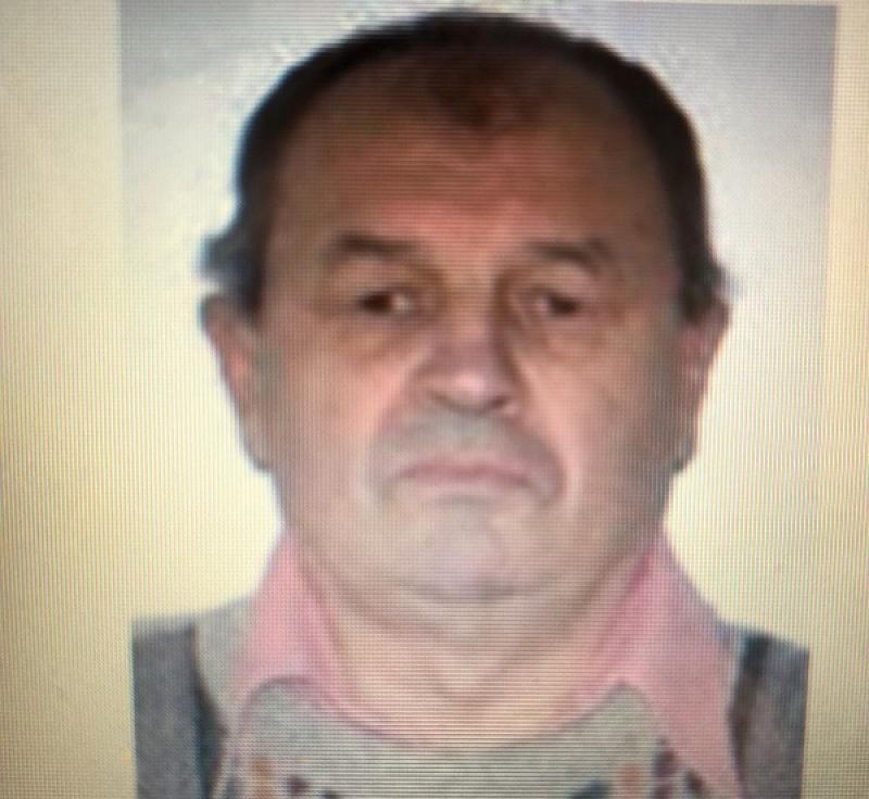 Un bărbat în vârstă de 68 de ani din Timișoara este dat dispărut