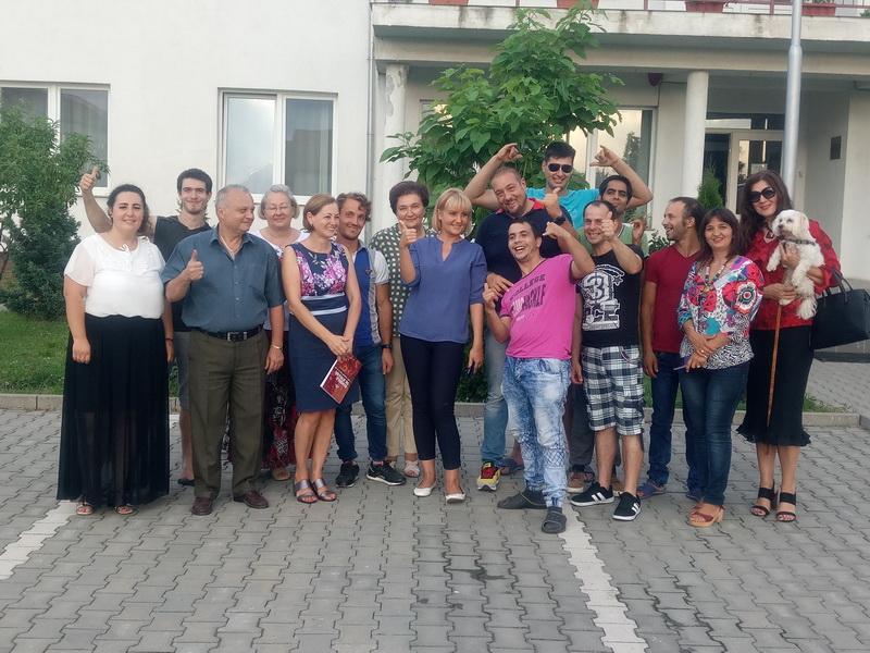 O întâlnire mai aparte la Direcția de Asistență Socială Arad