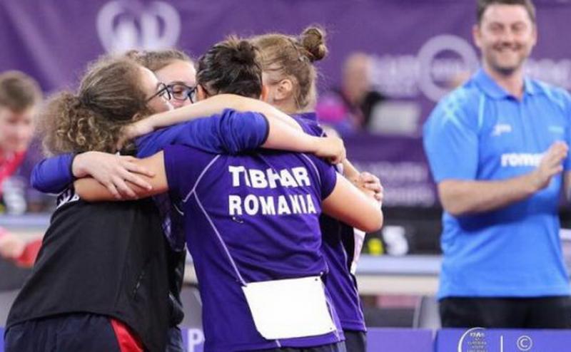 Arădeanca Irina Rus e campioană europeană la tenis de masă!