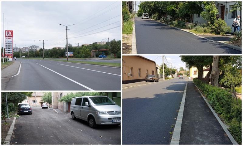 Reabilitarea mai multor străzi din municipiu s-a încheiat. Se pregătesc noi comenzi de lucrări