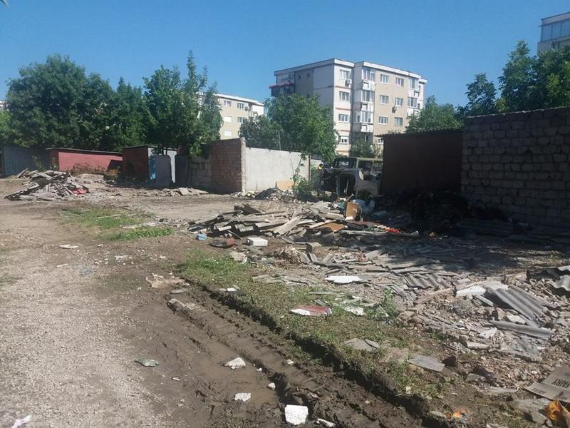 RETIM anunţă persoanele fizice din Arad că nu colectează materialele rezultate din demolarea garajelor
