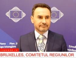 Primarul Falcă, prezent la cea de a 130-a sesiune plenară a Comitetului European al Regiunilor
