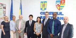 Medici și studenți de la Universitatea Rutgers din New Jersey (SUA) în vizită la Arad
