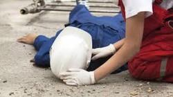 O femeie a căzut de pe o schelă, în timp ce lucra la o casă privată