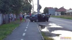 Accident rutier spectaculos pe Bodrogului