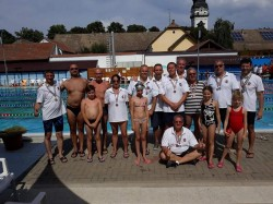 Ediția a-XIII-a a Concursului Internațional de Înot Masters Totkomlos 2018