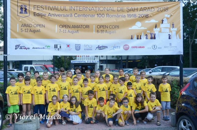 Openul principal al Festivalului Internațional de Șah Arad 2018 are un lider!