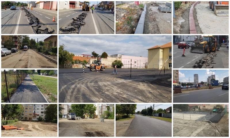 Pe unde se mai lucrează în municipiul Arad